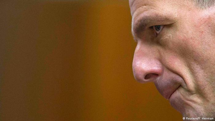 Varoufakis Porträt Symbolbild Griechenland EU Schuldenkrise
