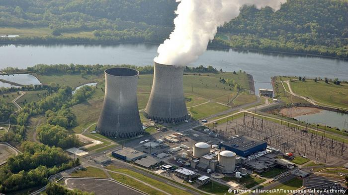 Watts Bar Unit 2 power plant in Tennessee