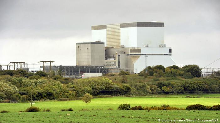 Atomkraftwerk Hinkley Point in Großbritannien (picture-alliance/Simon Chapman/LNP)