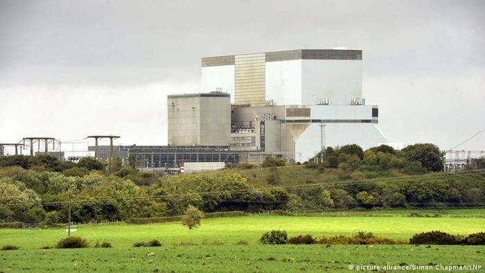 Atomkraftwerk Hinkley Point in Großbritannien