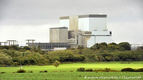 Hinkley Point nuclear power plant in Somerset, England