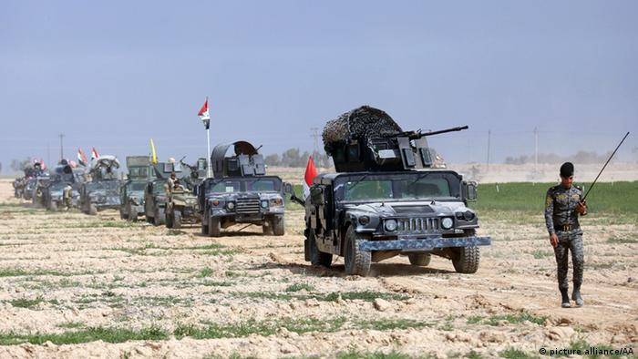 Irak Tikrit Offensive gegen IS