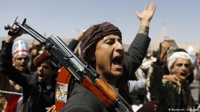 Jemen Demonstration der Anhänger vom Ex-Präsidenten Saleh