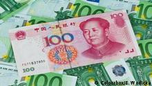 Symbolbild Euro Yuan