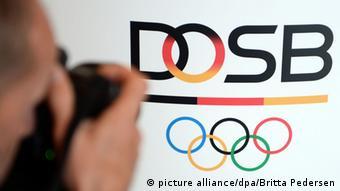 DOSB Logo (picture alliance/dpa/Britta Pedersen)