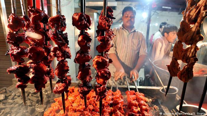 Indien Hühnerfleisch in Bhopal