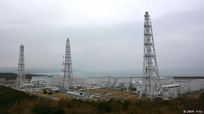 Atomkraftwerk in Kariwa-Kashiwazaki. (Foto: DW)