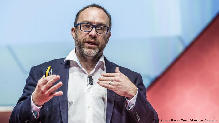 Jimmy Wales Wikipedia (picture alliance/Zuma/Matthias Oesterle)