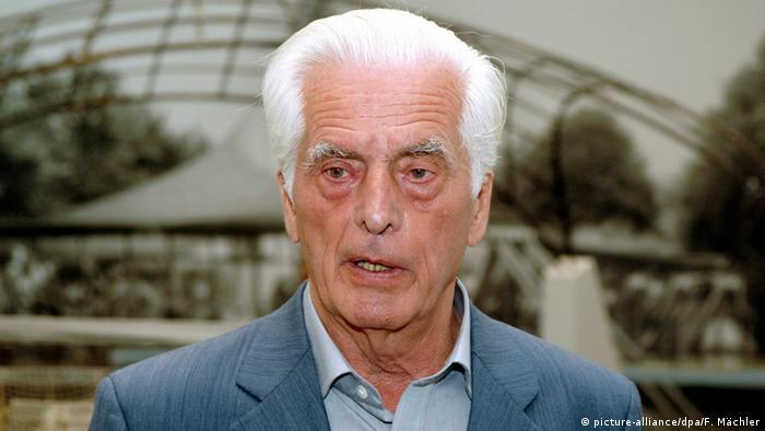Deutschland Architekt Frei Otto