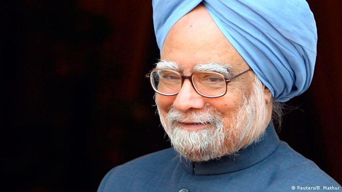 Indien Manmohan Singh in Kohle-Skandal-Prozess angeklagt (Reuters/B. Mathur)