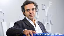 Navid KERMANI, Schriftsteller, Deutschland, Iran, am 11.10.2012, Frankfurter Buchmesse 2012 vom 10.10 - 14.10.2012 in Frankfurt am Main / Deutschland