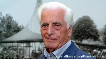 German architect Frei Otto, pictured in 2005, Copyright: picture-alliance/dpa/Frank Mächler