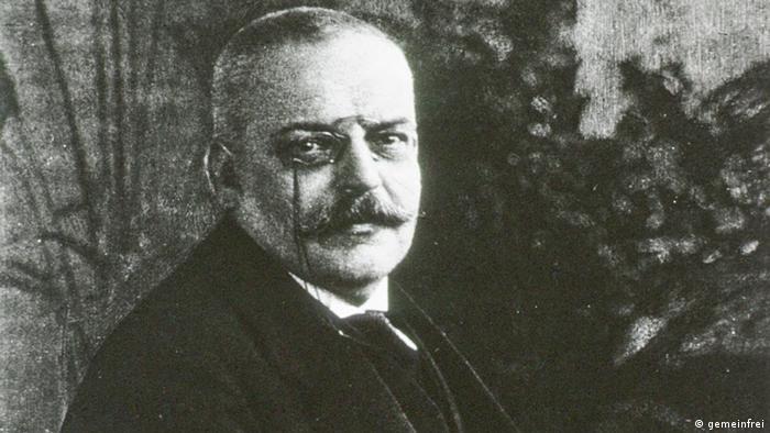 Alois Alzheimer Porträt (gemeinfrei)