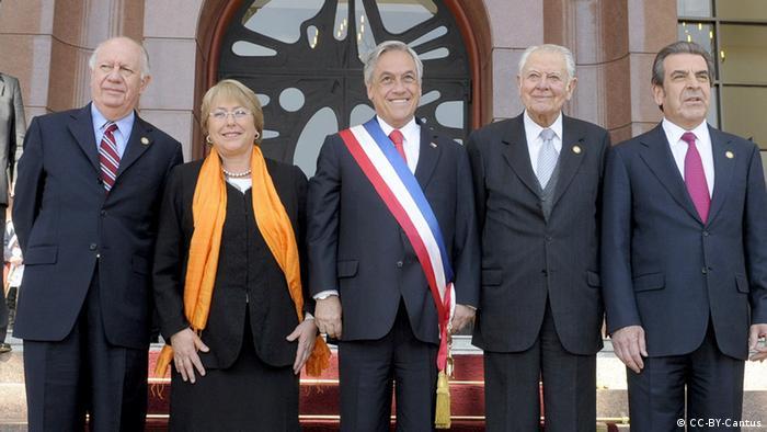Chile - Die fünf Präsidenten Chiles seit 1990