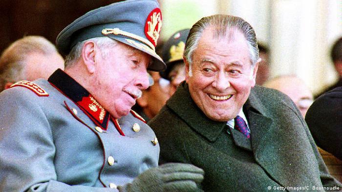 Pinochet y Aylwin, dos actores centrales del período pre y posdictadura.