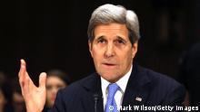 US-Außenminister Kerry im Kongress