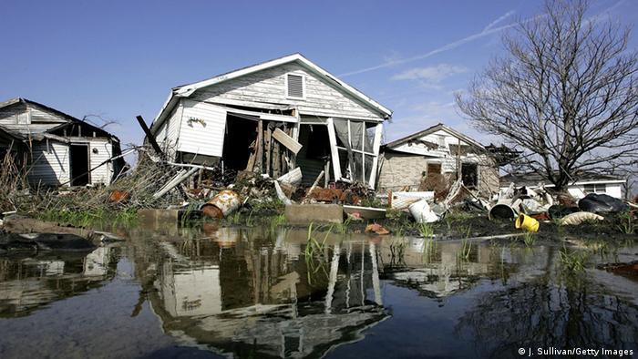 New Orleans after a hurricane in 2006