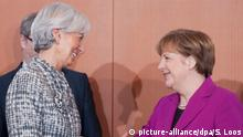Berlin - Christine Lagarde trifft Angela Merkel