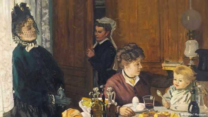 Клод Моне. Второй завтрак, 1868 (фрагмент)
