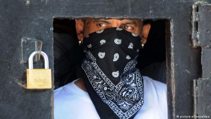 Gefängnis von San Pedro Sula, Honduras (picture-alliance/dpa)