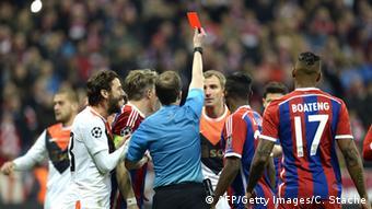Referee William Collum