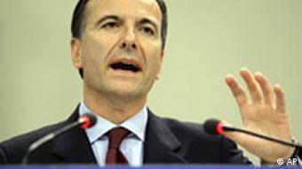 EU-Kommissar Franco Frattini
