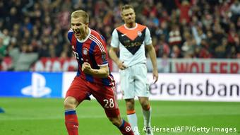 Fußball Champions League Bayern München vs Schachtjor Donezk