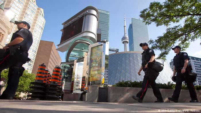 Polizisten in Toronto (Foto: AFP/Getty Images/G. Robins)