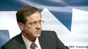 Itzhak Herzog, líder del partido Campo Sionista.