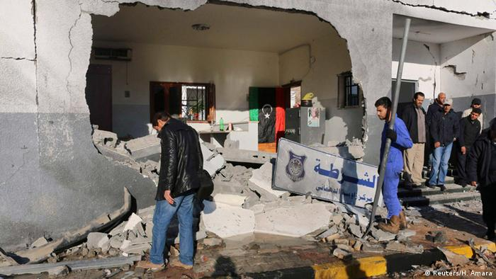 Libyen Anschlag in Tripoli (Reuters/H. Amara)
