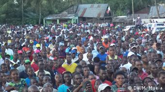 Mosambik Oppositionspartei RENAMO in Quelimane
