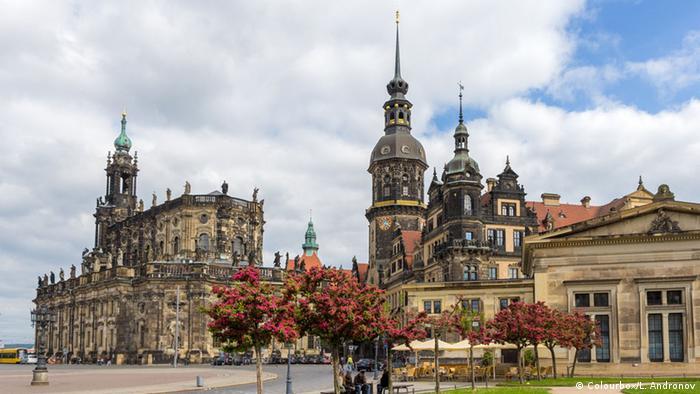 Dresden na primavera