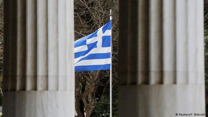 Symbolbild Griechenland Schuldenkrise wachsender Nationalismus