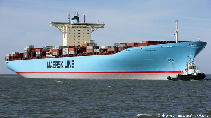 Deutschland Containerschiff Emma Maersk (Foto: dpa).