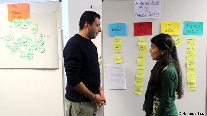 Praktikanten des Instituts für Auslandsbeziehungen in Stuttgart