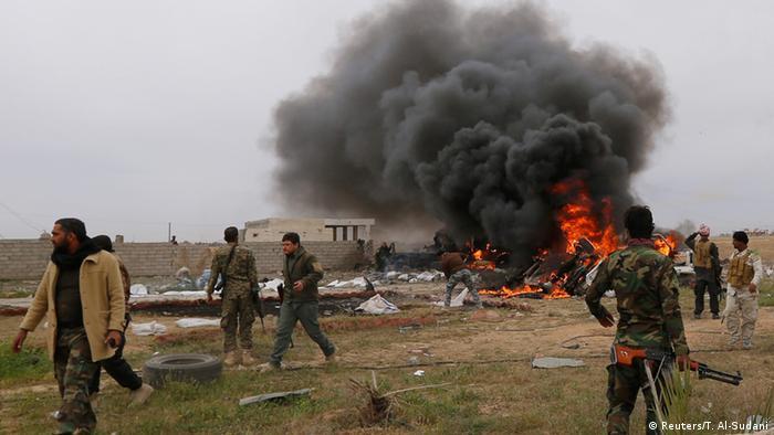 Musayar wuta a garin Tikrit na Iraqi