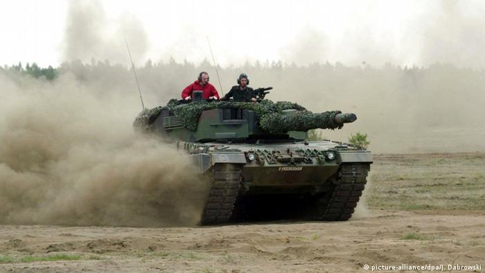 Übung der polnischen Armee (picture-alliance/dpa/J. Dabrowski)