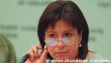 Ukraine, Finanzministerin Natalia Jaresko