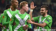 Europa League VfL Wolfsburg - Inter Mailand