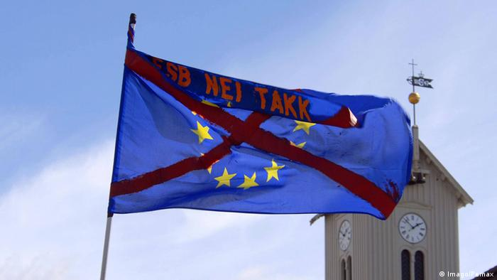 Island Reykjavik Anti EU-Beitritt Protest