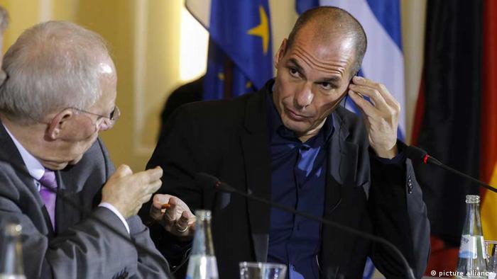 euro finanzen schäuble varoufakis finanzminister griechenland