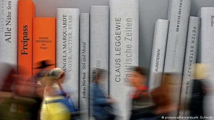 The Leipzig Book Fair 2015. Copyright: Hendrik Schmidt/dpa