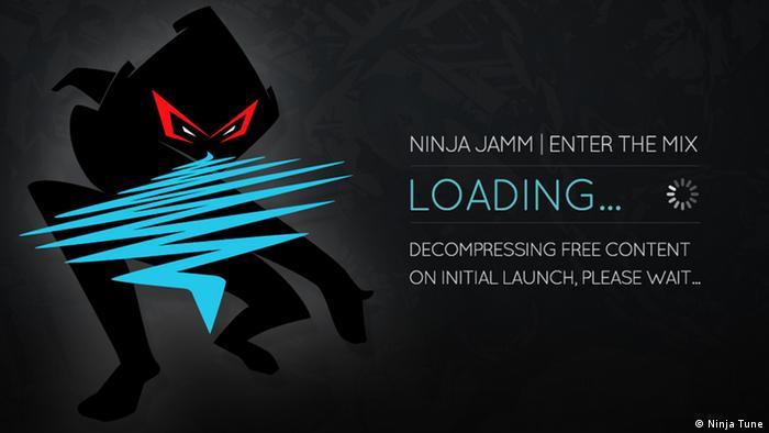 Screenshot of the iOS App Ninja Jamm
