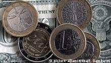 Symbolbild zur Euro Dollar Parität