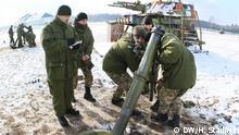 Ukraine Krise Militärübungsplatz