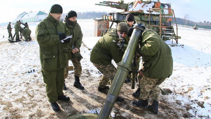 Навчання українських військовослужбовців (фото з архіву)