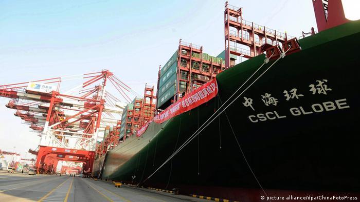China Containerschiff
