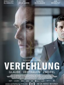 Film poster for Verfehlgung (The Culpable) by Gerd Schneider, Copyright: Alina Bader.