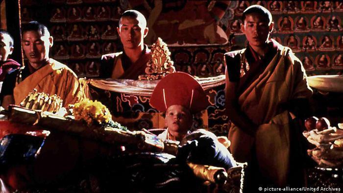 Film Scene from Little Buddha, by Bernardo Bertolucci