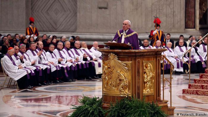 Papst Franziskus im Vatikan